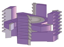 Регулируемая фреза для сращивания материалов