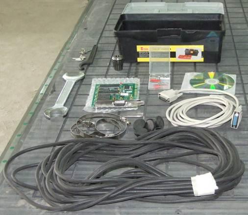 Фрезерный станок с ЧПУ BL-M1325B. Комплект поставки
