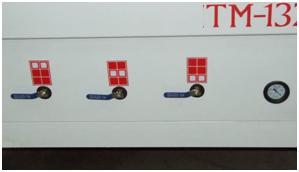 Фрезерный станок с ЧПУ TM-1325C Управление зонами вакуума