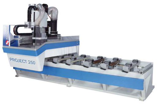 Обрабатывающий центр с ЧПУ PROJECT 250 с горизонтальным фрезерным узлом