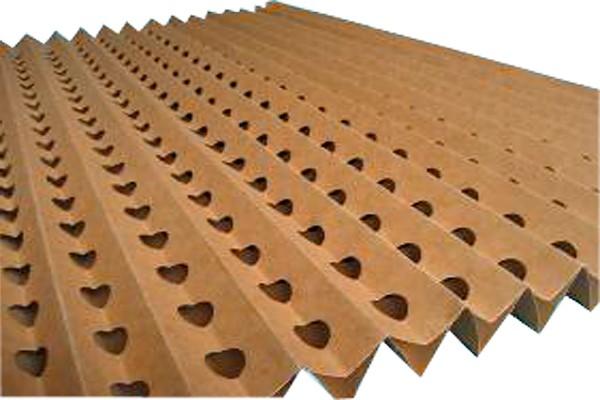 Фильтр картонный гофрированный коричневый