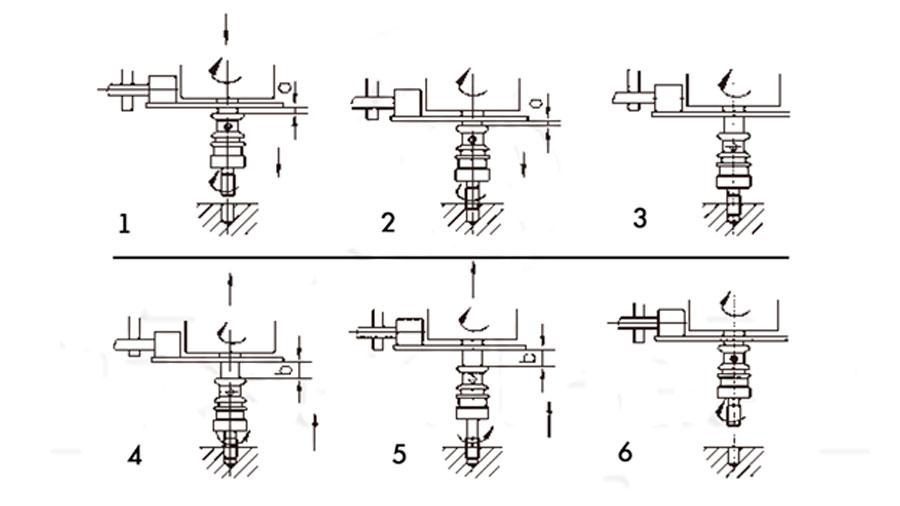 Патрон реверсивный для нарезания резьб.  Конус Морзе №2 и №3, М5 - М12