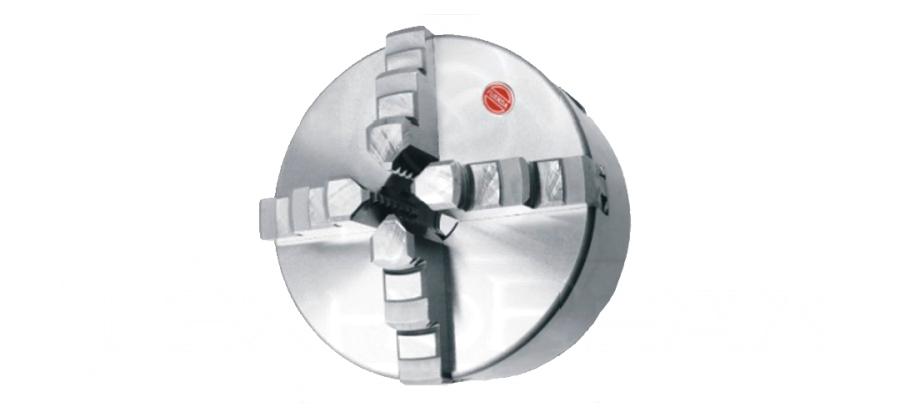 Патрон токарный 4х кулачковый. Самоцентрирующийся, 125 мм